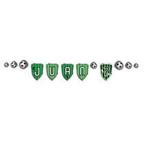 Banderin Guirnalda Futbol Personalizado