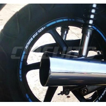 Friso Adesivo Refletivo Rec02 Roda Moto Honda Biz 125 100