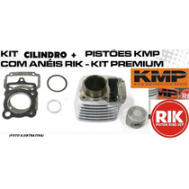 Kit Premium C/cil+pist+jtas Kmp/anel Rik Burgman125 05-10