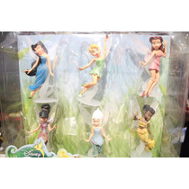 Set De Figuras De Fairies Disney Hadas