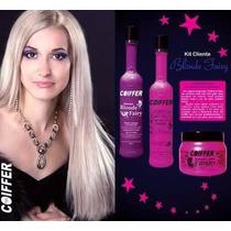Kit Coiffer Desamarelador Matizador Blond Fairy Original
