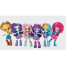 My Little Pony Equestria Girls Set 6 Minis Nuevas!