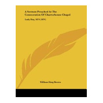 Libro Sermon Preached At The Consecration Of, William Haig B