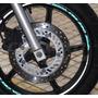 Friso Adesivo Refletivo Rec2 Roda Moto Honda Cbx 250 Twister