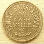 Moneda Token Ficha Usa Perky´s Bronce