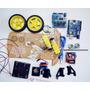 Kit Carro Robótico Arduino Uno R3 Ch340g Sensor Distancia.