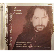 Marco Antonio Solis - La Historia Continua... Cd Y Dvd