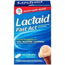 Lactaid Fast Act - 60 Cáp. R$94,90 - Menor Frete