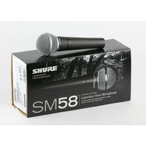 Microfono Profesional Shure Sm58 - Mejor Precio - Original M