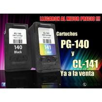 Jgo De Cartuchos Canon Mg3110,mg2210,mg3210 Plan Recambio