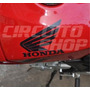 Adesivo Faixa Asa Tanque Moto Honda Cbx 250 Twister 05-08
