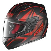 Casco Nolan N64 Flazy Rojo Urquiza Motos