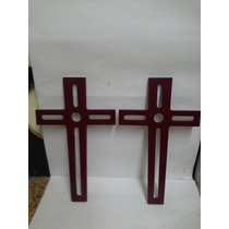Cruces De Madera Fina Hermosas!!!