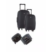 Valija Viaje Set X 2 Premium 6 Ruedas 360° Nueva Candado Gta