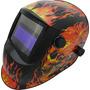 Máscara De Solda Automática Gtf-6010 C/lente 510g +3 Brinde