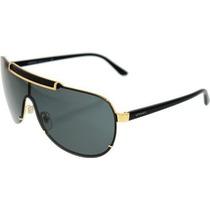 Gafas Versace Men Oro / Gris Gafas De Sol De 40 Mm Marco D