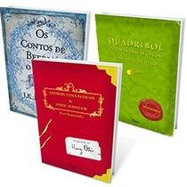 A Biblioteca De Hogwarts ( Harry Potter ) Kit 03 Livros