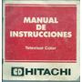 Manual De Instrucciones Televisor Color Cd Hitachi Retro
