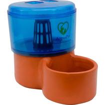 Bebedouro Para Gatos - 2,5 Litros - Água Corrente E Filtrada