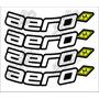 Adesivo Para Rodas - Aero 4 Unidades Aero Cod02