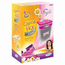 Fogão Em Plástico Infantil Luxo Casinha Flor - Xalingo