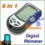 Bússola Digital 8x1 Altímetro Barômetro Várias Funções