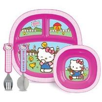 Munchkin Hello Kitty Del Niño Juego De Comedor
