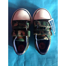Zapatillas Abrojo Originales Tommy Hilfiger De Nene - Roar