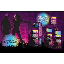 Issue Crazy Colors Kit Color Fantansia Violeta X 3 Unidades