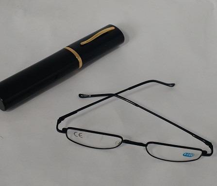 Armação Preta Oculos Grau +1,5 Leitura C estojo Caneta - R  24,99 em ... dc61167703