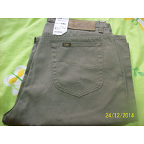 Pantalon Original Lee Casual, Verde Aceituna, 32x32