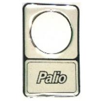 Protetor Fechadura Fiat Palio Prata Resinado - Par+ Brinde