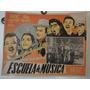 Cartel Escuela De Musica Pedro Infante Libertad Lamarque