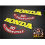 Calco Honda Triciclo Atc 90 / Laterales Tanque X 4