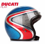 Casco Abierto Bell Custom 500 Airtrix Heritage Ducati Pilar