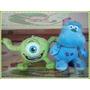 Pack Peluches Monsters Inc De Disney Pixar! Mike + Sullivan