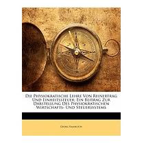 Libro Physiokratische Lehre Von Reinertrag Und, Georg Hamblo