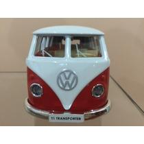 Miniatura Volkwagen Kombi 1962 Coleção Escala 1:32 13 Cm