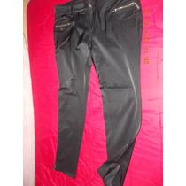 Pantalón Mujer Marca Rolly Go Talla 42 Negro