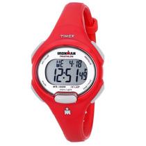 Reloj Timex Ironman Dama Sport Tradiciona Rojo Blakhelmet Sp