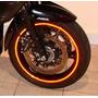 Friso Fluorescente De Rodas 7mm Carros E Motos +brinde