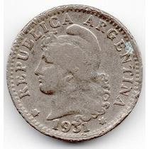 Moneda Argentina 5 Ctvs.1931.hermosa.muy Difícil