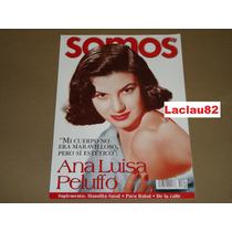 Ana Luisa Peluffo Mi Cuerpo No Era Maravi Revista Somos 2001