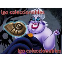 Dije Caracol Ursula La Sirenita Disney Igo Coleccionables!