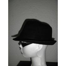 Elegante Sombrero De Paño Otoño Invierno Boina Gorra