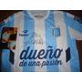 Autografiada! Camiseta Racing Topper ´14 Campeon Dt Cocca !
