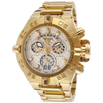 Relógio Invicta Subaqua Noma 4 Iv 14499 Branco 18k Original!
