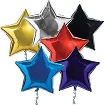 10globos Metalicos Estrella Eventos Especiales 18 Pulgadas