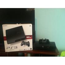 Playstation 3 De 160gb Usada Con 3 Juegos