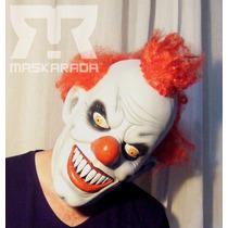 Máscaras Látex Payaso Asesino Clown Terror Disfraz,halloween